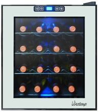 Vinotemp 16 Bottle Mirrored Thermoelectric Wine Cooler