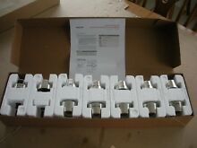 Wolf Model 820427 Stainless Steel Kit 48  60DF Range Top Knobs   New In The Box