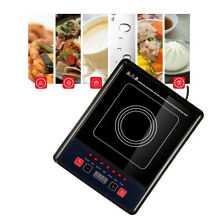 USA 110V 1300W Electric Induction Cooktop Kitchen Ceramic Cooker Cook Cooktops