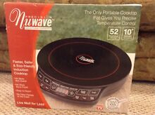 Precision Nuwave Induction Cooktop   Portable Cooktop