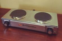 Capitol Products Portable Rangette Electric 2 burners NSF Commercial Use CUL965