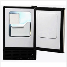 Ice Maker Under Counter With Freezer 12 Pounds A Day Stainless Steel Compact New