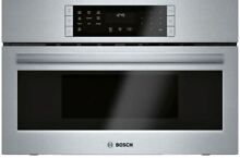 Bosch 800 Series 30  Stainless Steel Built In Microwave Oven HMC80252UC