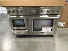 PRD48JDSGU THERMADOR PRO STEAM DUAL FUEL RANGE 6 BRN GRIDDLE  NEW OUT OF BOX