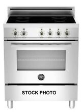 BERTAZZONI PROFESSIONAL SERIES 30  INDUCTION RANGE STAINLESS STEEL