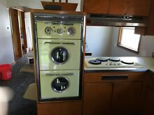 1954 WESTERN HOLLY DOUBLE OVEN  AND RANGE WITH HOOD