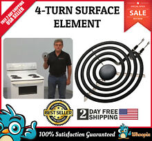 Whirlpool Surface Stove 6 4 Turn Surface Element for Range Electric Burner Cook