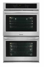 Frigidaire Gallery Series 30  Stainless Electric Double Wall Oven FGET3065PF