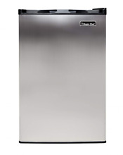 Magic Chef MCUF3S2 3 0 cu  ft  Upright Freezer in Stainless Steel