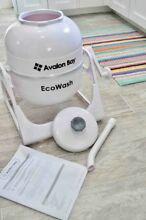 Non Electric Washing Machine Portable Hand Ecowash Cranked Manual Clothes NEW