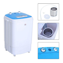 Portable Mini Washing Machine Dryer Electric Laundry Spin Washer 8 4 lbs Load