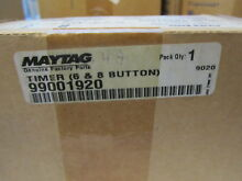 Whirlpool     Maytag  Genuine  99001920  Washer  Timer  6   8 Button