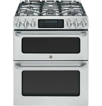 GE Caf  CGS990SETSS 30  Slide In Gas Double Oven with Convection Range