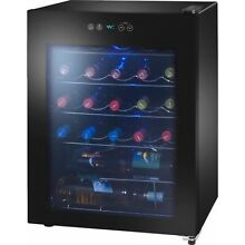 24 Bottle Wine Cooler Fridge Home Bar Garage Man Cave Basement Arctic King