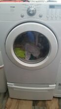 LG TROMM Dryer and Pedestal