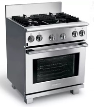 Electrolux E30DF74GPS ICON Professional  30 Inch Pro Style Dual Fuel Range