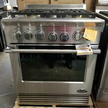 NEW OUT OF THE BOX LAST YEARS MODEL DCS 30  PRO STYLE GAS RANGE STOVE STAINLESS