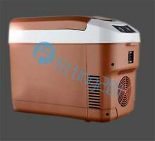 Portable Travel Car Truck Electric Fridge Cooler Warmer Brown 10L