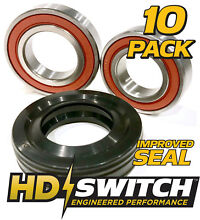 10Pk  W10435302 W10447783 Kenmore Maytag Whirlpool Washer Tub Bearing  Seal Kit