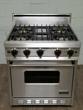 VIKING VGIC307 4BSS 30  PRO Series Gas Range Oven 4 Burner Stainless Steel