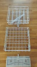 WHIRLPOOL DISHWASHER COMPLETE UPPER AND LOWER RACK SET PART  W10161215 8539387