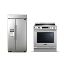 LG Signature 2 PC Kitchen Package UPSXB2627S UPSE3024ST