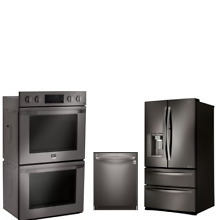 LG 3 PC Kitchen Package LMXS27676D Fridge LSWD309BD Oven    LDT5665BD Dishwasher