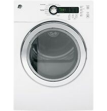 GE  DCVH480EKWW 4 0 Cu Ft  Capacity Electric Dryer