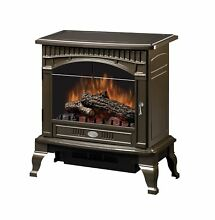 DIMPLEX TRADITIONAL ELECTRIC STOVE  GLOSS BRONZE