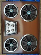 Vintage Old Modern Maid Electric Stove Cooktop CET330