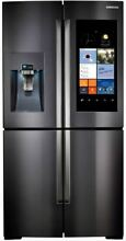 Samsung RF22K9581SG Black Stainless 36 Inch Counter Depth 4 Door Refrigerator