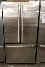 GE MONOGRAM FRENCH DOOR STAINLESS STEEL REFRIGERATOR COUNTER DEPTH