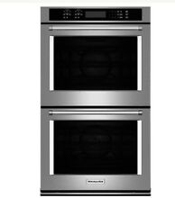 KitchenAid 30 in  Double Electric Convection Wall Oven Self Clean   KODE500ESS