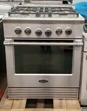 DCS 30  4 BURNER GAS RANGE CONVECTION STAINLESS STEEL REFURBISHED