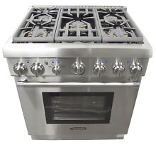 Thermador Pro Harmony Professional Series PRG305PH 30  Pro Style Gas Range