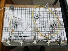 W10806878   Whirlpool Range Manifold and orifice holders Tubes Complete assemby