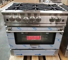 REFURBISHED BLUE STAR PLATINUM 36  RANGE STAINLESS STEEL