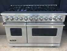 NEW MINT VDR7488BSS VIKING 7 SERIES 48  DUEL FUEL RANGE  LOCAL PICKUP CT NY NJ