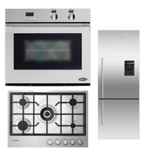 Fisher   Paykel DCS 3 PC Kitchen Package CG305DLPX1  RF135BDRUX4  WOSU30