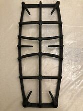 Center Grill For GE Profile Gas Stove SS black