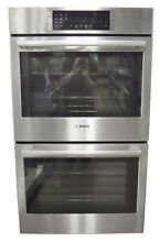 Bosch 800 Series HBL8651UC 30  Double Electric Wall Oven