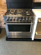 RGV2366N DCS 36  NATURAL GAS PRO  RANGE 6 BURNERS STAINLLESS DISPLAY MODEL