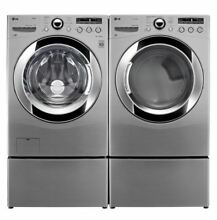 LG TrueSteam Front Load Washer   Dryer Combo Unit   LIKE NEW