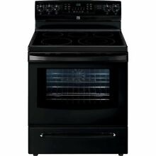 Kenmore 5 7 cu  ft  Self Clean Electric Range in Black