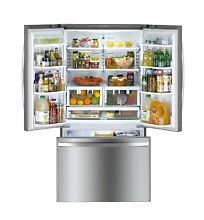 Kenmore 73025 26 1 Cu  Ft  Non Dispense French Door Refrigerator In Stai
