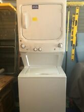 Kenmore 24  1 5 Cubic Feet Upright Washer Dryer Electric Combo  Series AFO12140C