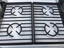 9759754 BLACK   KITCHEN AID  BURNER GRATES    Pre Owned