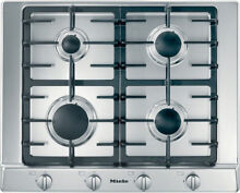 Miele KM 2010 G Gas Hob 65cm Stainless Steel
