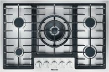 Miele KM 2334 G Gas Hob 5 Burners Stainless Steel 75cm