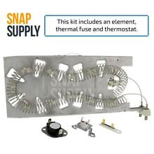 Dryer Element   Thermostat Kit for Whirlpool Part   3387747   3392519